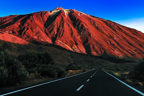 españa paisajes mountain sunrise landscape spain canarias amanecer tenerife teide teneriffa canaryislands montañas