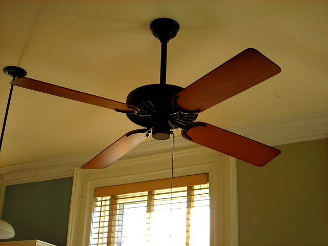 Wood Blade Ceiling Fan