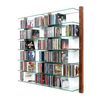 cd shelf walnut wood cd regal nussbaum wall mounted cd s flickr photo sharing. Black Bedroom Furniture Sets. Home Design Ideas