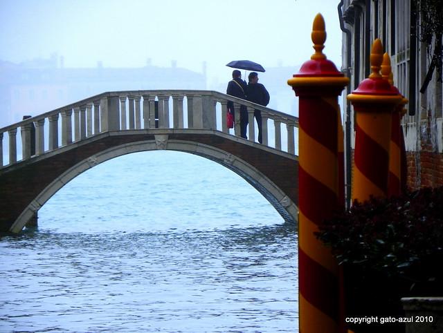 Venice By Rain