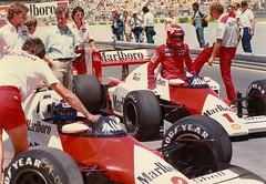 Adelaide formula 1 Grand Prix 1985 to 1987