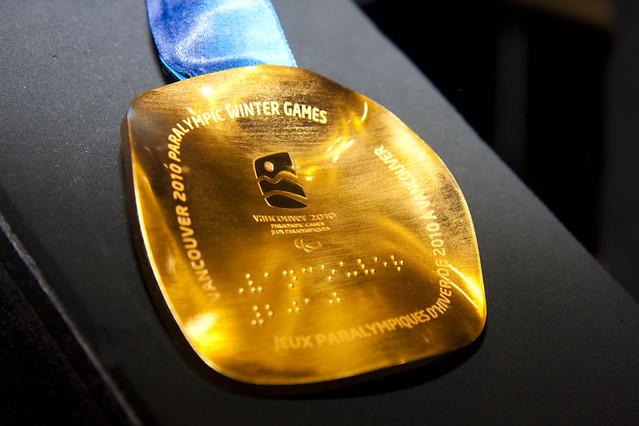 Paraolympics gold medal