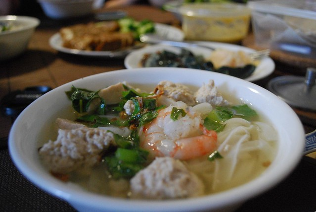Mum's Ipoh Hor Fun Noodle Soup | Mum made a delicious Ipoh S ...