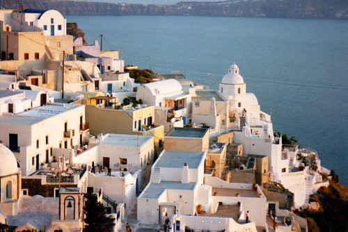 Griekenland Santorini eilandgevoel