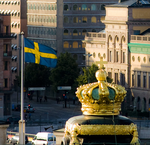 Swedish, Government Offices in the background