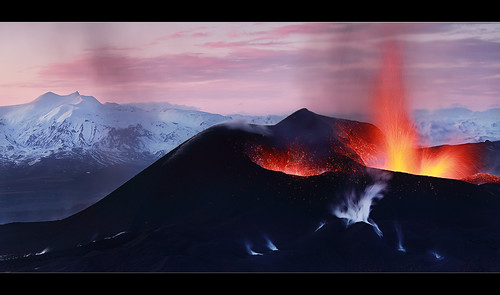 Fire and Ice - Eyjafjallajökull Eruption