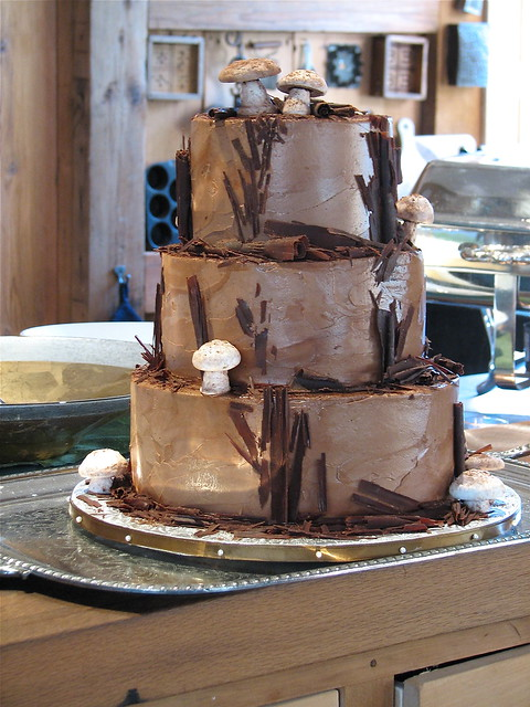 Woodland Chocolate Cake