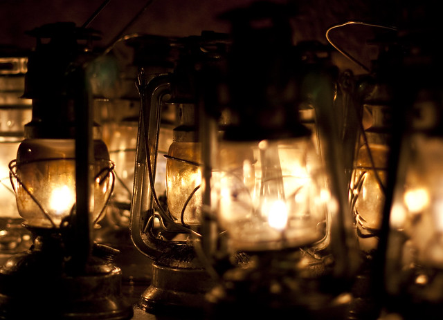 Hurricane lamps