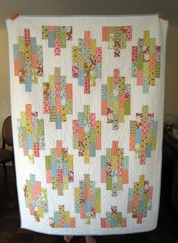 Springtime Diamonds Quilt
