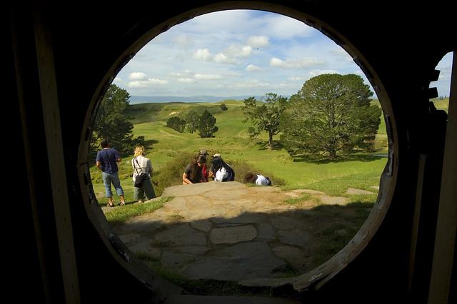 Hobbit Hole Inside