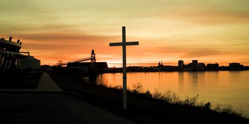 ohio sunrise river easter baptist service foresthills
