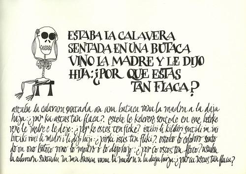 calavera by verito_ad