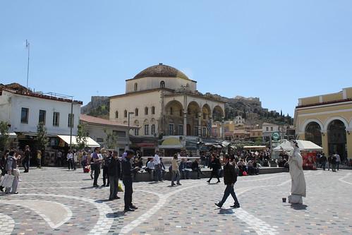 Plaka à Athènes