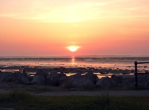 Sunset On Beach 9