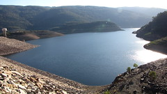 fjord, reservoir, sea, loch, lake, body of water, tarn, terrain, crater lake,