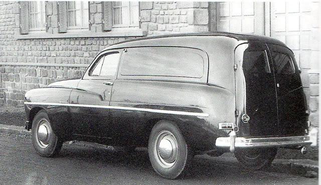 ford vedette van france 1953 flickr photo sharing. Black Bedroom Furniture Sets. Home Design Ideas