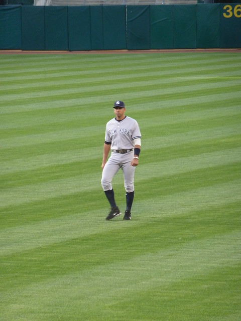 A-Rod in Oakland