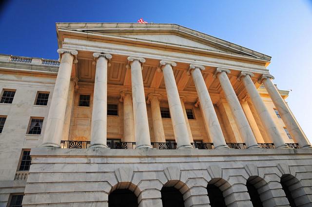 Columns Of The Rayburn House Office Building Washington
