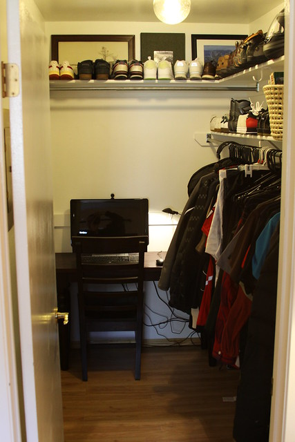 Walk In Closet And Small Office Flickr Photo Sharing