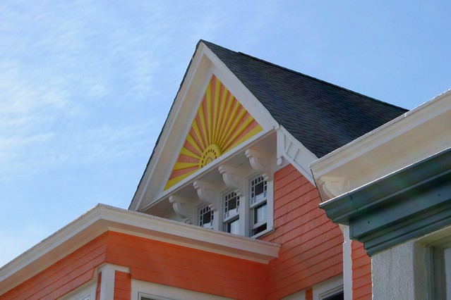 Church Street Montclair / Sunburst Gable