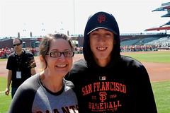 SF Giants Fan Photo Day