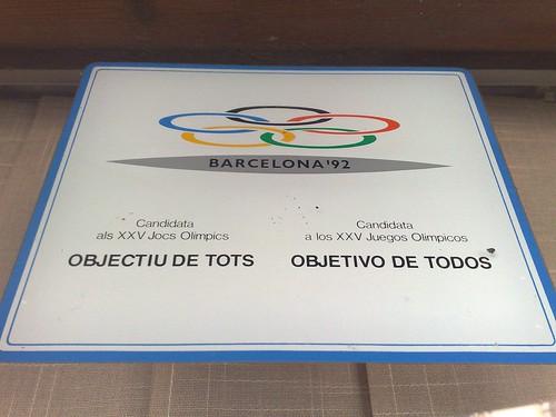 BARCELONA '92. OBJECTIU DE TOTS OBJETIVO DE TODOS
