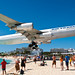 Air France over Maho Beach 3 by Arian Durst