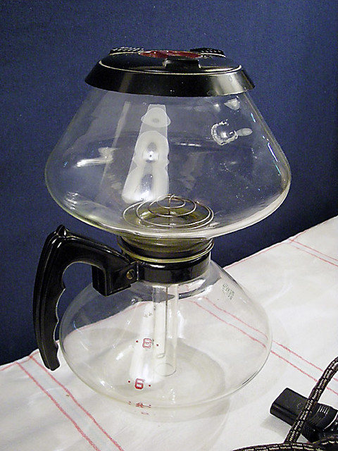 Vintage GE Pyrex Glass 8 Cup Vacuum Coffee Pot Maker Flickr - Photo Sharing!