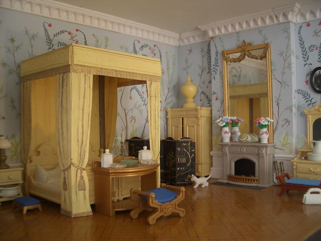 Chinoiserie bedroom