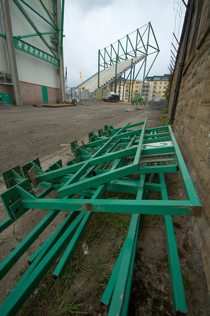 East Stand Construction 014