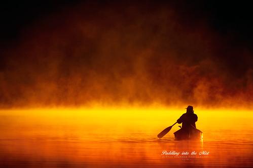 mist fog sunrise canoe canot brume canoë abigfave colorphotoaward 100commentgroup saariysqualitypictures peopleenjoyingnature créatitudesnolimits