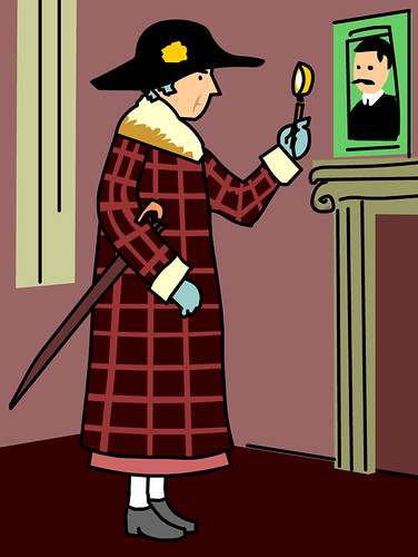 Agatha Christie by brainpop_uk