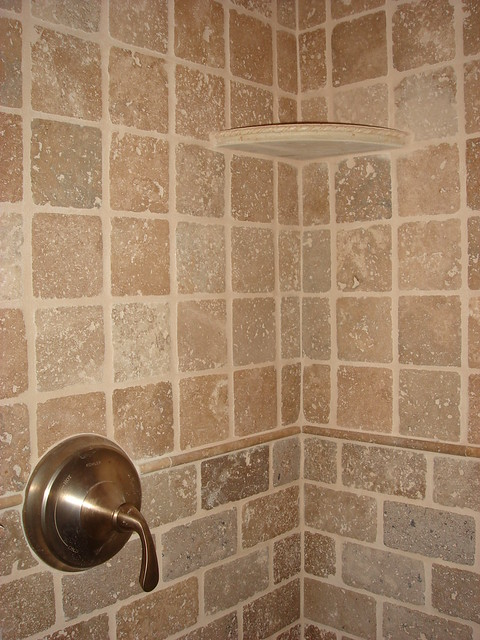 Natural Stone Showers http://www.flickr.com/photos/generationtile/4620160180/