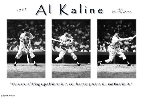 """Al Kaline 1955 batting champ poster"""