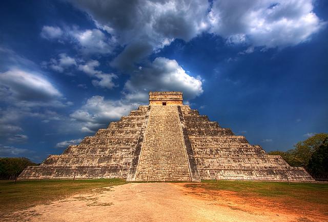 Mayan Pyramid of Kukulkan - Yucatan Mexico