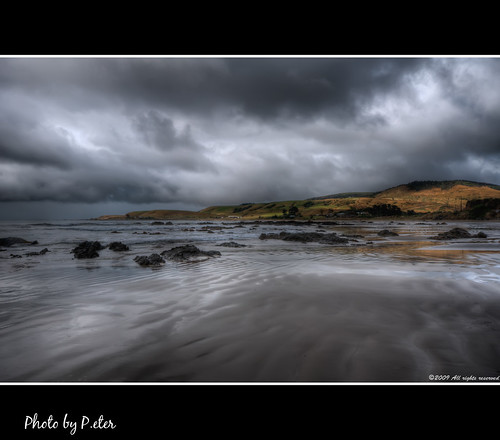 sea newzealand clouds coast stormy material catlins hdr badweather kakapoint photomatix nikond90