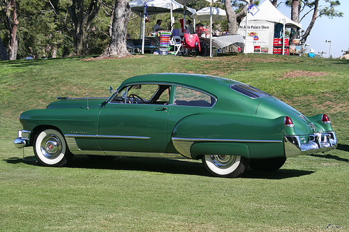 1949 Cadillac Series 62 - green - rvl