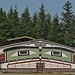 Small photo of Front of 'Namgis Big House, Alert Bay, BC