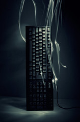 Deus ex machina : My old trusty keyboard
