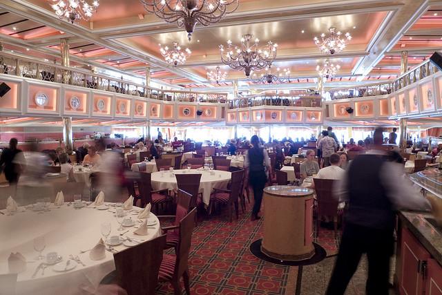 Carnival Valor Dining Room
