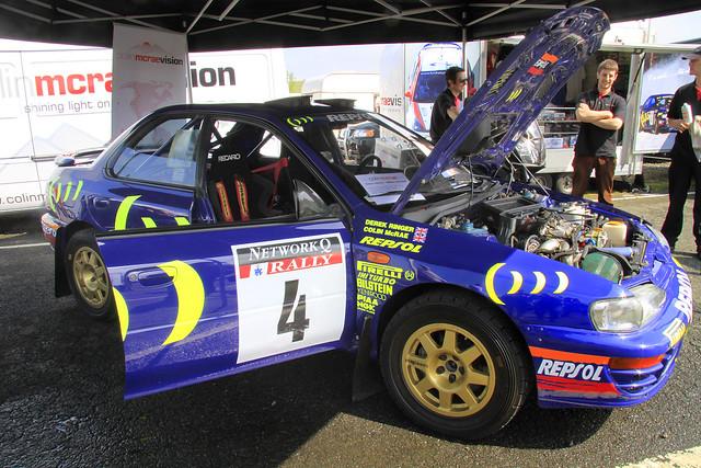 Colin McRae;s 1995 Subaru Impreza