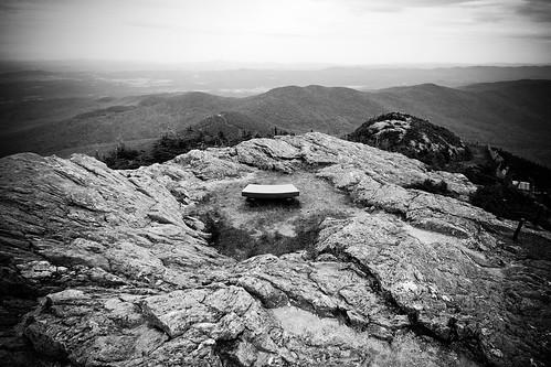 mountain bench memorial jay view peak sit jaypeak