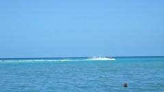 Jet Skiing the horizon