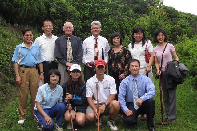 2010年5月份-金色山莊安排Hauraki市長拜訪國際木球總會