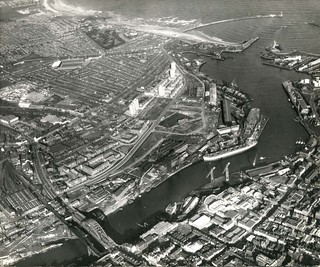 Wearmouth Bridge to the Sea 2nd March 1967