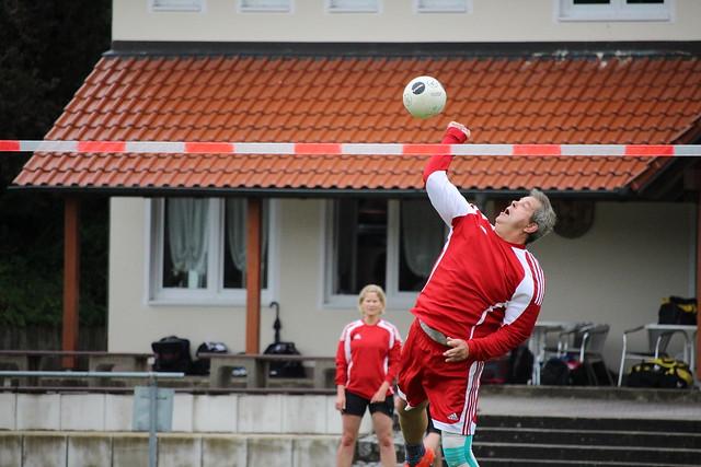 Faustball Bezirksliga 02.07.2017 Spiel Erlenmoos gegen Lindau