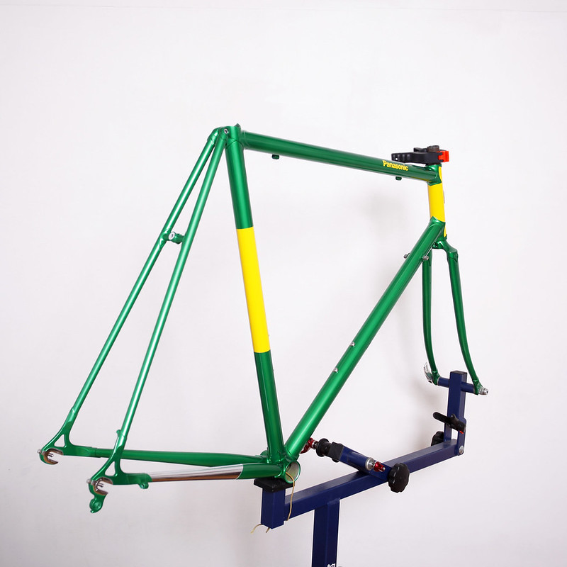 Panasonic Frame & Fork Repainted by Swamp Things