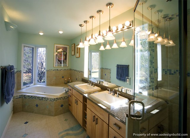 A A Design Build Remodeling Master Bathroom Washington Dc Chevy Chase