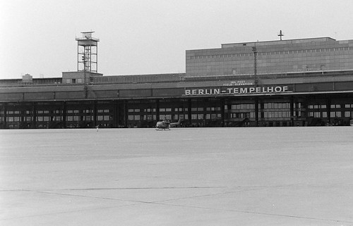 On the ramp at Templehof