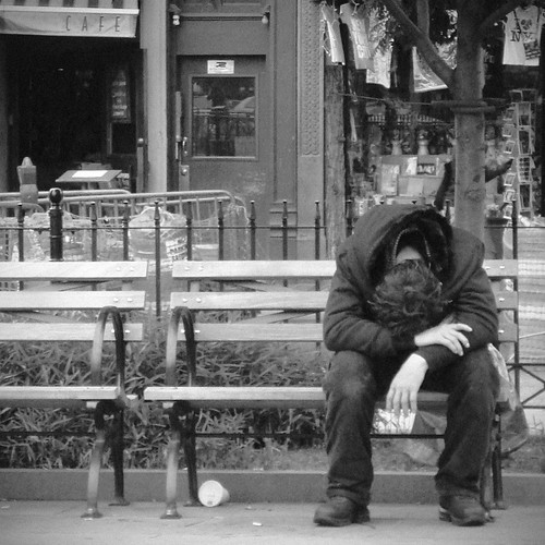 down and out on bleeker street